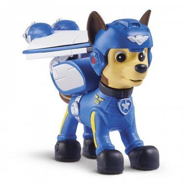 Щенячий патруль - щенок Чейз воздушный спасатель с рюкзаком-трансформером