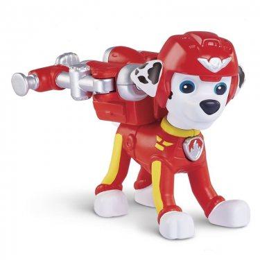 Щенячий патруль - щенок Маршалл воздушный спасатель с рюкзаком-трансформером