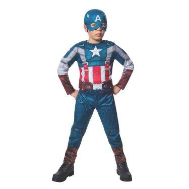 Игровой детский костюм Капитана Америки (4-6 лет)
