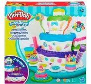 Набор для творчества Play-Doh Игровой набор Праздничный торт