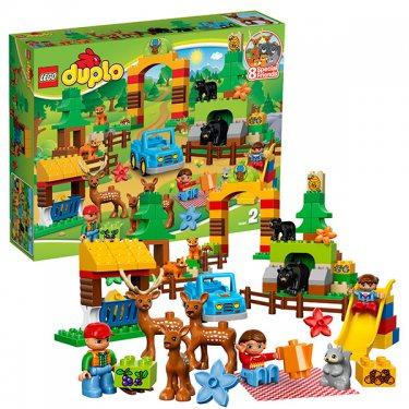 Конструктор Lego Duplo Лего Дупло Лесной заповедник 10584