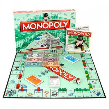 Настольная игра Классическая Монополия Hasbro