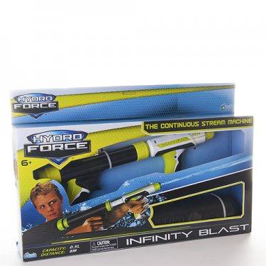 Водный пистолет HydroForce 7152 Гидрофорс водное оружие со съемным резервуаром Infinity Blast