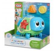 Игрушка для малышей Little Tikes Литл Тайкс Ползающая черепаха-сортер, звуковые эффекты
