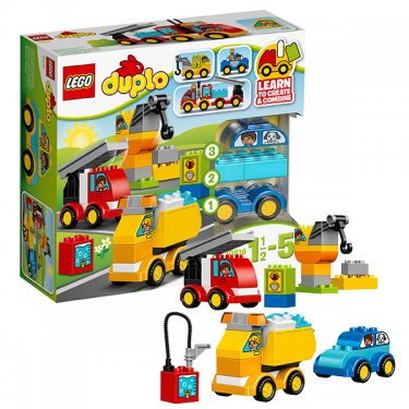 Конструктор Lego Duplo Лего Дупло Мои первые машинки 10816