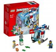 Конструктор Lego Juniors Лего Джуниорс Погоня на полицейском вертолёте 10720