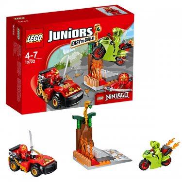 Конструктор Lego Juniors Лего Джуниорс Схватка со змеями 10722