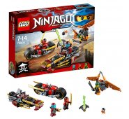 Конструктор Lego Ninjago Лего Ниндзяго Погоня на мотоциклах 70600