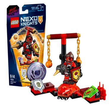 Конструктор Lego Nexo Knights Лего Нексо Предводитель монстров – Абсолютная сила 70334