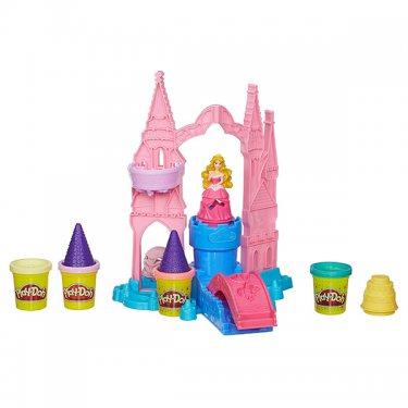 """Пластилин Play-Doh A6881 Игровой набор пластилина """"Чудесный замок Авроры"""""""