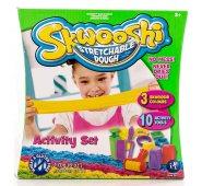 Пластилин Skwooshi Сквуши Набор для творчества игровой - масса для лепки и аксессуары
