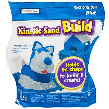 Кинетический песок Kinetic sand Кинетический песок Build - набор из 2 цветов, в ассортименте