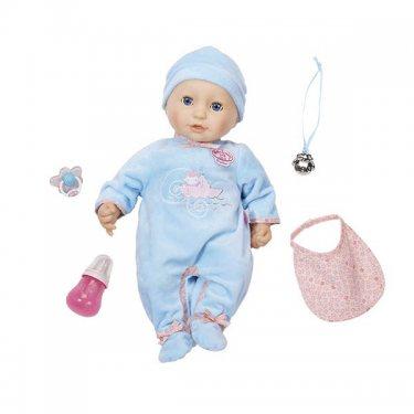 Интерактивная кукла Бэби Аннабель Кукла-мальчик многофункциональная, 46 см