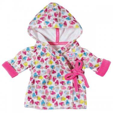 Одежда для куклы Zapf Creation Baby born Бэби Борн Одежда Халат с капюшоном