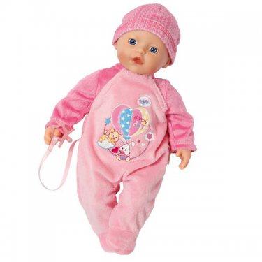 Zapf Creation Бэби Борн my little BABY born Кукла в розовом комбинезоне (32 см)