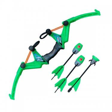 Игрушечное оружие Zing Зинг Лук большой 3 стрелы, в ассортименте