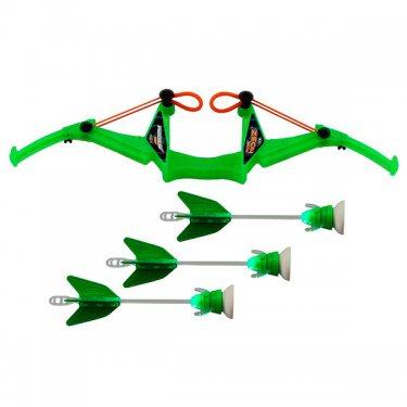 Игрушечное оружие Zing Зинг Игрушка Лук с подсветкой средний 3 стрелы, в ассортименте