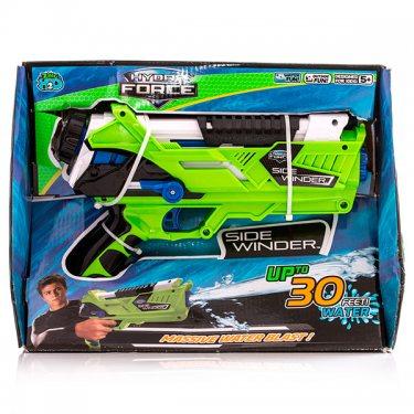 Игрушечное оружие HydroForce Гидрофорс водное оружие со съемным картриджем на 300мл Side Winder