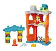 Пластилин Play-Doh Игровой набор Пожарная станция