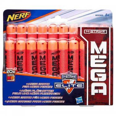 Игрушечное снаряжение Nerf Нерф Мега 20 стрел