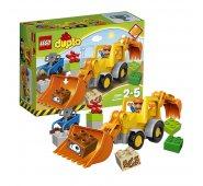 Конструктор Lego Duplo Лего Дупло Экскаватор-погрузчик 10811