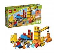 Конструктор Lego Duplo Лего Дупло Большая стройплощадка 10813