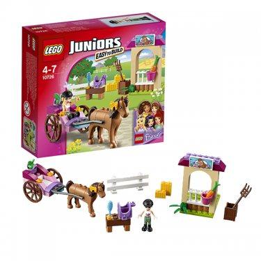 Конструктор Lego Juniors Лего Джуниорс Карета Стефани 10726