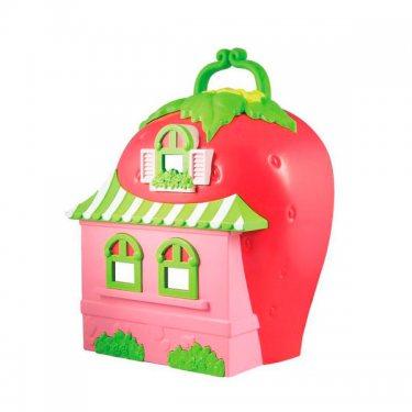 Кукла Strawberry Shortcake 12267 Шарлотта Земляничка Набор Кукла 15 см с домом и аксессуарами, коробка