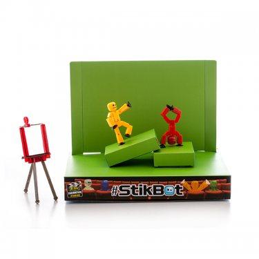 Набор для творчества Stikbot TST617 Стикбот Анимационная студия со сценой