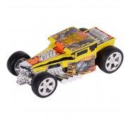 Машинка Hot Wheels Машинка Хот вилс на батарейках со светом механическая, желтая 14 см