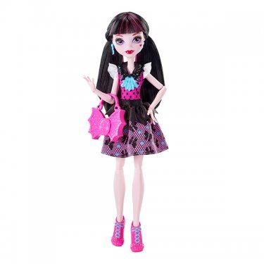 Кукла Monster High Дракулаура Первый День в Школе