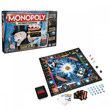 Настольная игра Monopoly Монополия с банковскими картами (обновленная)