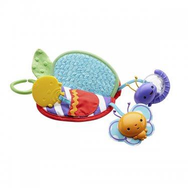 Игрушка для малышей Fisher-Price Фишер Прайс Яблочко - прорезыватель (разнофактурное) DFP88