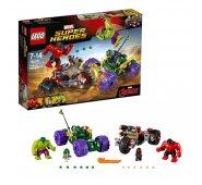 Конструктор Lego Super Heroes Лего Супер Герои Халк против Красного Халка 76078