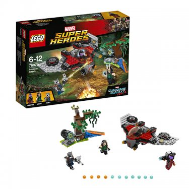 Конструктор Lego Super Heroes Лего Супер Герои Нападение Тазерфейса 76079