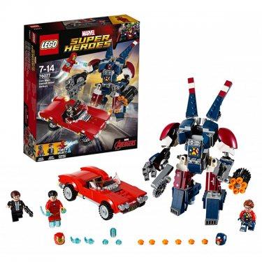 Конструктор Lego Super Heroes Лего Супер Герои Железный человек: Стальной Детройт наносит удар 76077