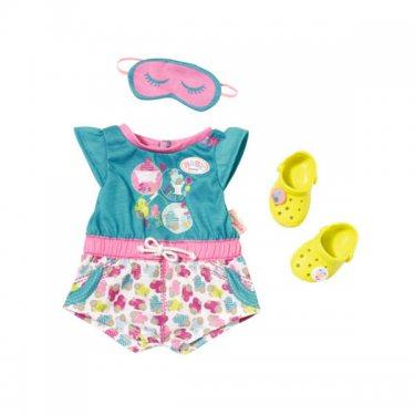 Аксессуары для куклы Zapf Creation Baby born Бэби Борн Пижамка с обувью