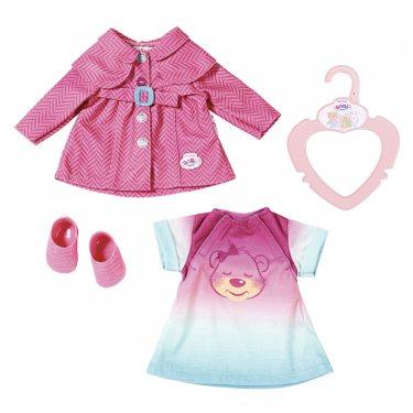 Одежда для куклы Zapf Creation Baby born Бэби Борн Комплект одежды для прогулки, 32 см