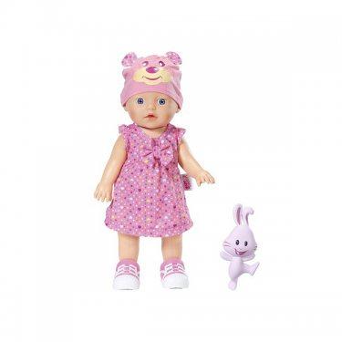 Zapf Creation Baby born Интерактивная Кукла с зайчиком, 32 см