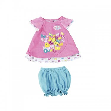 Одежда для куклы Zapf Creation Baby born Бэби Борн Туника с шортиками, в ассортименте