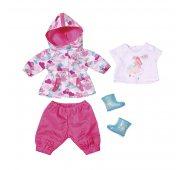 Одежда для куклы Zapf Creation Baby born Комплект Одежды для дождливой погоды (4 предмета)