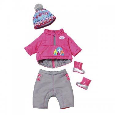 Одежда для куклы Zapf Creation Бэби Борн Комплект зимней одежды (4 предмета)