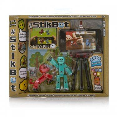 Набор для творчества Stikbot TST615A Стикбот Студия с питомцем, в ассортименте