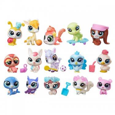 Набор фигурок Littlest Pet Shop Литлс Пет Шоп Набор зверюшек - малышей