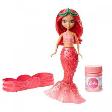 Кукла Barbie Барби Маленькие русалочки с пузырьками Стильная