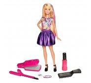 """Кукла Barbie Барби Игровой набор """"Цветные локоны"""" DWK49"""