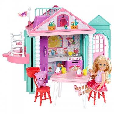 Кукольный домик Barbie DWJ50 Барби Домик Челси