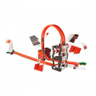 Игровой набор Hot Wheels Хот Вилс Конструктор трасс: взрывной набор