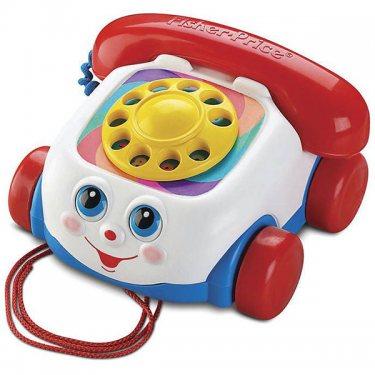 Развивающие игрушки Fisher-Price Фишер Прайс Говорящий телефон на колесах