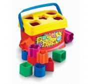 Игрушка для малышей Mattel Fisher-Price K7167 Фишер Прайс Первые кубики малыша